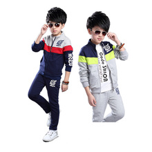 cute causal kids sweatshirt tops pants set cartoon Naruto clothes set  for 4-14yr children boys anime cosplay outerwear set hot