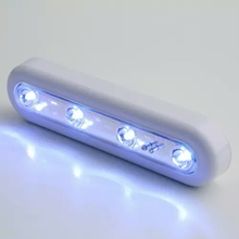 1pcs Self adhesive cordless linear led cabinet lamp touch sensor cabinet strip light battery powered up light bar/xj