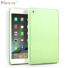 mosunx Hot Selling New Clear TPU Gel Silicone Case Cover for iPad mini 4 Green Gift 1pcs Dec 9