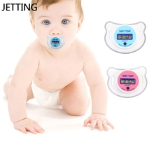 Medical Silicone Baby Nipple Thermometer Pacifier LCD Digital Children's Thermometer Health Safety Care For Children(China)