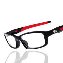 New Fashion Silicone Sport Glasses Men Women Optical Mirror Acetate Gamming Myopia Glasses Frame Eyeglasses lunette de vue femme
