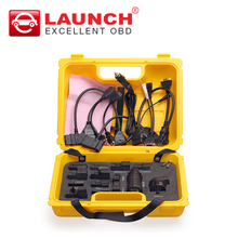 Launch X431 Diagun IV yellow case with full set cables and adapters Yellow box for x-431 Diagun IV DHL free shipping(China)
