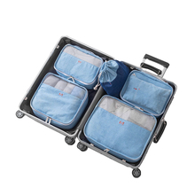 8Pcs/set Travel Storage Bags Men Woman's Shoes Clothes Underwear Toiletry Organizer Luggage Pouch Accessories Supplies Products(China)