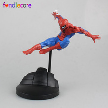 Fondlecare 18cm boys girls anime the Avengers action figures Spiderman action figures Doll toy for children Brinquedos(China)