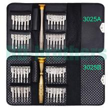 All in One Torx Bit Set Hot Sale 25 in 1 Wallet Screwdriver Set for iPhone Hand Tools 20Sets/lot
