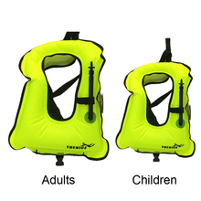 Inflatable Life Jacket Adult Kid Life Vest Buoyancy Vest Dive Suit for Water Sport Swimming Drifting Surfing Snorkel Super Light