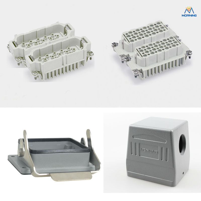 China price HD-080 10a80 pins Crimp heavy duty connector<br>