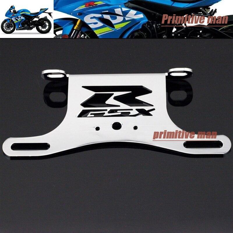 For SUZUKI GSXR GSX-R 600/750 2006-2013 Motorcycle Fender Eliminator Registration License Plate Holder Bracket<br><br>Aliexpress