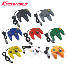 High quality Wired Game Controller Gamepad Joystick for Nintendo 64 for N64(China)