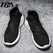 TBA Men's Sport Shoes Men Winter Sneakers Top Rubber Sole Running Shoes Outdoor Mens Trainers Run Air Mesh Fabric Men's Sneakers