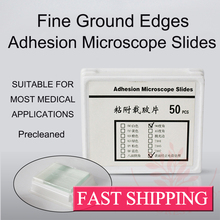 Ground Edges Permanent Positive Charge Adhesion Microscope Slides(China)