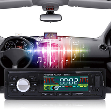 New 1 Din Car Radio Player Car Audio Auto Stereo 12V In-dash Single FM Receiver Aux Car Receiver MP3 Remote Control