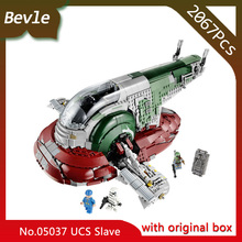 Doinbby Store 05037 2067pcs with original box star space Series Slave One Building Blocks Set Bricks For Children Toys 75060(China)