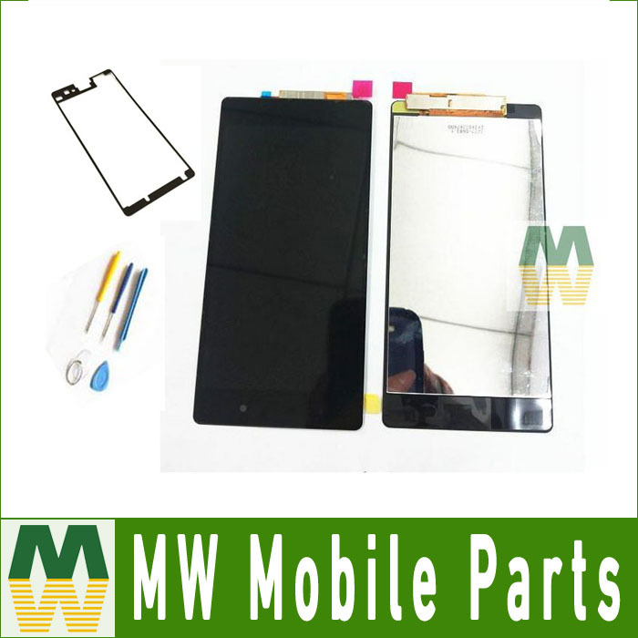 10PCS/Lot For Sony Xperia Z2 L50W D6503 LCD Display +Touch Screen Digitizer Assembly +Tools +Free Adhesive Tape Free DHL EMS<br>