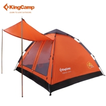 KingCamp Brand Portable 3-Person Ultralight Summer Outdoor Camping Tent Single Dome Tent for Camping Hiking Trekking