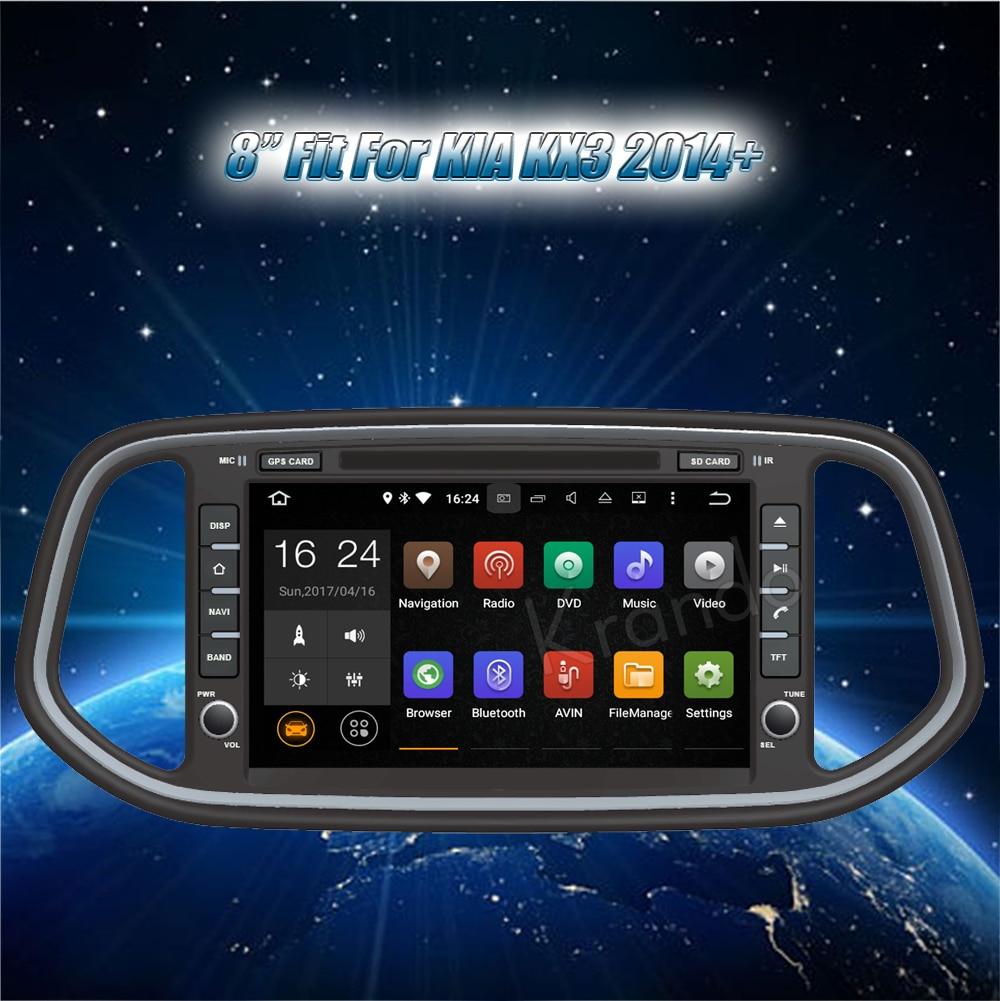 Krando Android car radio gps for kia kx3 2014+ navigation multimedia system (2)