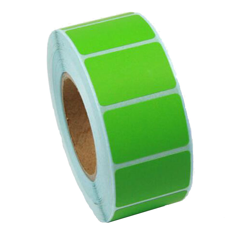 Color 30*20*1000pcs/roll 3 single row of thermal paper label,stickers paper<br><br>Aliexpress