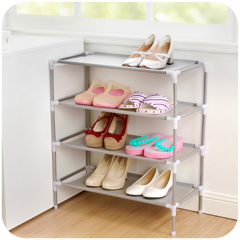 new Non-Woven Fabric Shoe Rack Organizer Storage Bench Organizer Your Closet Cabinet or Entryway Shoe Cabinet Shelf Shoe Holder(China)