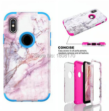 Marble Granite Rock Stone Soft TPU Case For Iphone X 8 IPhone8 7 I7 6 6S Plus SE 5 5S SE Hybrid Silicone Gel Phone Cover 50pcs(China)