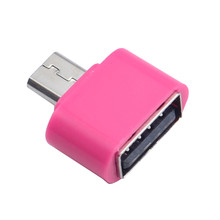 2017 Digital Data New Standard Micro USB To USB OTG Mini Adapter Converter for Android Cell phones Accessories Top Sale(China)