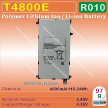 [T4800E] 3.8V 4800mAh Li - Polymer lithium ion Mobile / TABLET PC battery for SAMSUNG Galaxy T320 T321 T325 [R010]