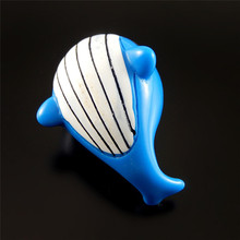 2PCS Cute Colorful Blue Resin Made Whale Jewelry Making Charms Accessory Private Designed Christmas Gifts Collection 52090