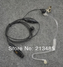 Air-Tube Acoustic Headset with PTT & VOX  for Motorola GP344 GP388 GP328Plus GL200 EX500 EX600XLS GP338Plus