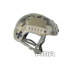 FMA FAST Protecive Helmet-PJ TYPE Tactical Helmet A-tacs For Airsoft Paintball