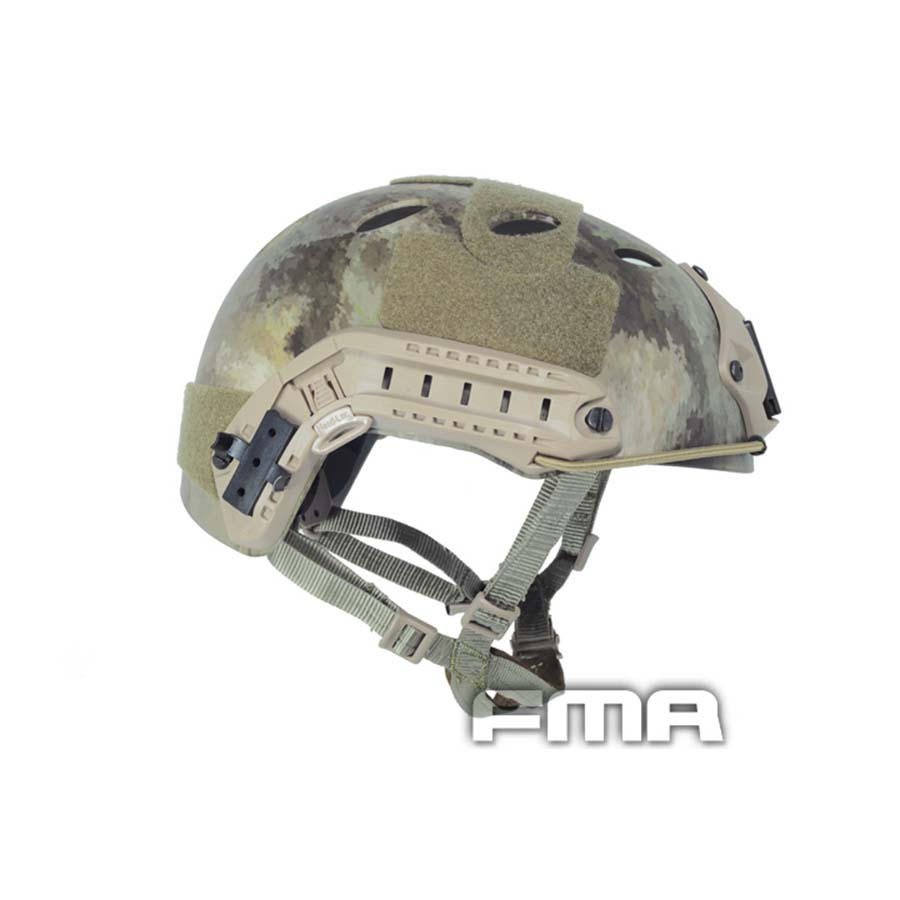 FMA FAST Protecive Helmet-PJ TYPE Tactical Helmet A-tacs For Airsoft Paintball(China (Mainland))