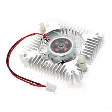 GTFS Hot New Metal VGA Video Card Cooler Heatsinks Cooling Fan for Your Processor
