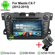 HD 1024*600 2GB RAM Octa Core Android 6.0.1 Car DVD Player For Mazda CX-7 CX7 CX 7 Stereo Radio 4G WiFi GPS Navigation Head Unit