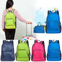 Women Men Backpack Riding Back Pack Bag Ultra Light Folding Waterproof Travel Nylon Shoulder Bags   WML99