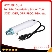 Hot Air Heat Gun BGA Desoldering Station Tool 220V Electric Power Tool Output power 300W for SOIC CHIP QFP PLCC BGA PDR(China)