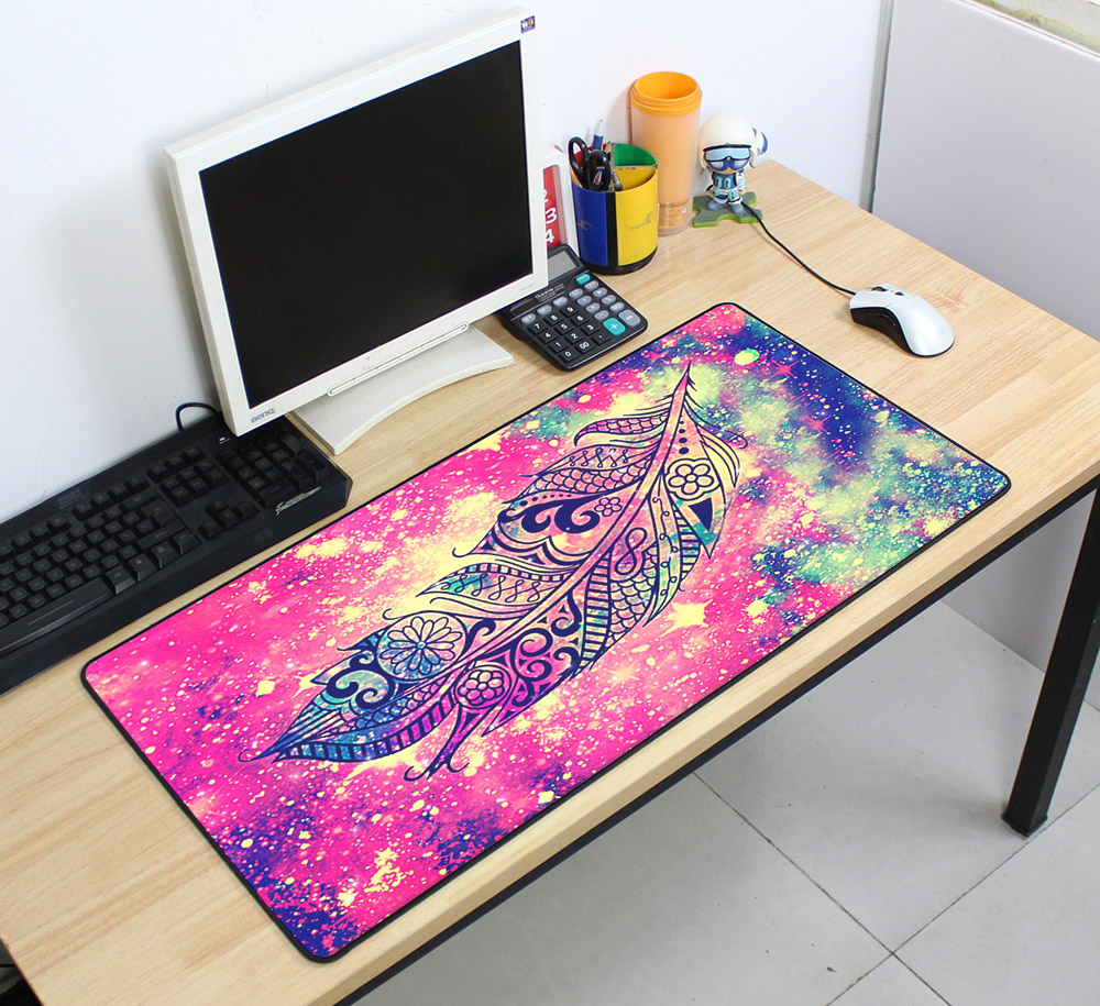 Custom Large mouse pad 700x400mm speed Keyboards Mat Rubber Gaming mousepad Desk Mat for game player Desktop PC Computer Laptop 8