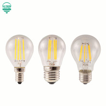 E27 Lamp A60 LED Filament 2W 4W 6W 8W G45 Retro Glass Edison 220V Bulb Replace Incandescent Light Chandeliers