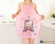 Hot Sale 1PCS Multicolor cartoon Cooking Aprons Funny Novelty BBQ Party Apron  Men Women Lovely cute style Kitchen Cooking Apron
