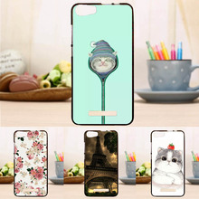 Hot Sale Soft Silicon Case for Micromax Spark 2 Q334 Mobile Phone Fashion Flower  Cover Case Coque