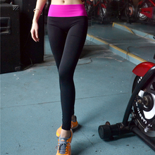professional women sports pants super stretch  yoga pants skinny apris Running fitness Tights slim Leggings outdoors riding