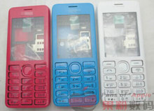 New Full Complete Mobile Phone Housing Cover Case+Enlish Keypad For Nokia 206 2060 + Tools+Tracking