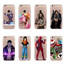 Jason Momoa Aquaman Design Phone Cases For iPhone 5 5s se 6 6s 7 Plus Cool Wonder Woman Joker Harley Quinn Deadpool Back Covers