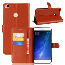"Buy Claasic Flip Wallet Leather Case Bussness Card Slot Stand Cover Xiaomi Mi Max 2 (6.44"") Holder Protector Bag phone Shell for $3.74 in AliExpress store"