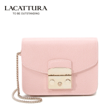 A1312 LACATTURA Brands Mini Flap bags crossbody Bags cow leather clutches bag bolsos women bolsa feminina shoulder messenger - STEVEN'S UNIQUE Store store