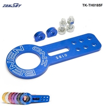 TANSKY - Anodized Universal Front Tow Hook Billet Aluminum Towing Kit For JDM Racing TK-TH0185F(China)