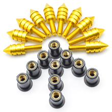 For Motorcycle Accessories Fairing Bolt Screw Fastener Fixation for suzuki boulevard c50 yamaha fz8 r1 bmw motorcycle triumph st