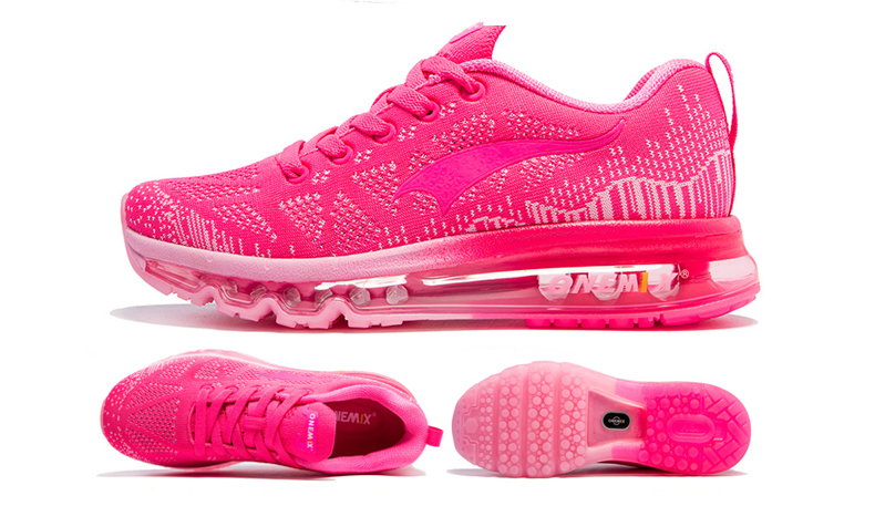 ONEMIX Women Running Shoes Weave Breathable Sport Shoes Air Cushion for Women 17 New Sneakers Athletic Outdoor Sport Shoes 19