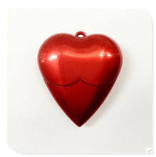 Red Heart USB 2.0 USB Flash Drive  thumb pendrive u disk usb creativo memory stick 4GB 8GB 16GB 32GB 64GB S517