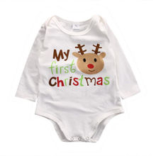 Buy Kids Baby Boys Girls Infant Deer Romper Jumpsuit Cotton Clothes Outfits Unisex Christmas baby rompers children jumpsuits 2016 for $3.55 in AliExpress store