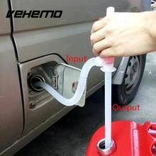 Portable Car Manual Hand Siphon Pump Motorcycle Hose Gas Oil Petrol Liquid Transfer Pump Oil Suction Pipe Hot Sale Car-styling