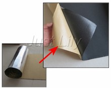 CHESHUNZAI Car sound insulation aluminum foil sound insulation cotton thermal insulation cotton sound-absorbing1M*1M * 5mm(China)