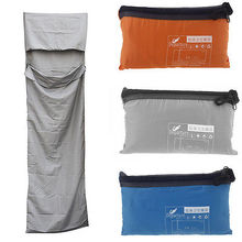 New Outdoor camping Ultra light small Portable Envelope Single sleeping bag